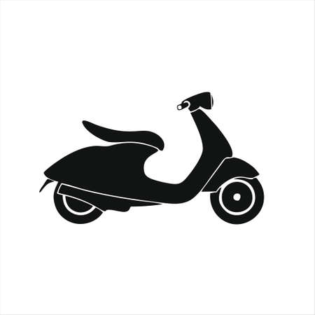 scooter icon isolated on white background from transportation collection. scooter icon trendy and modern scooter symbol for logo, web, app, UI. scooter icon simple sign