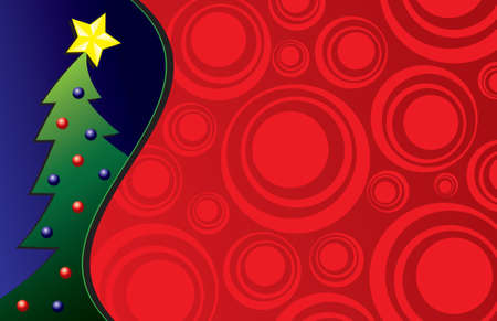adorned: Christmas Tree background - perfect for a card or invitation!