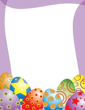 4월: Easter Egg Frame