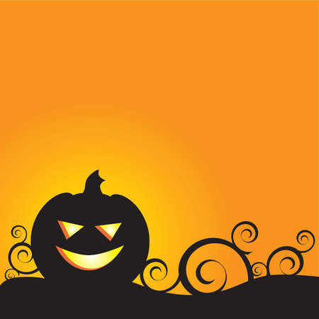 A Glowing Background for Halloween - perfect for a card or invitation! Stock Vector - 3253044