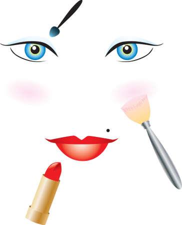 Beauty Tools Vector