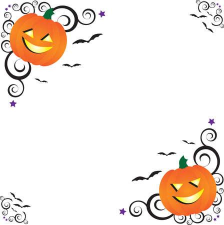 Halloween Corners Ilustração
