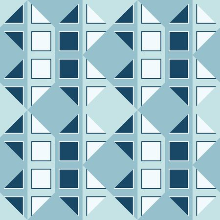 Seamless Geometric forms as pattern and texture shape 矢量图像