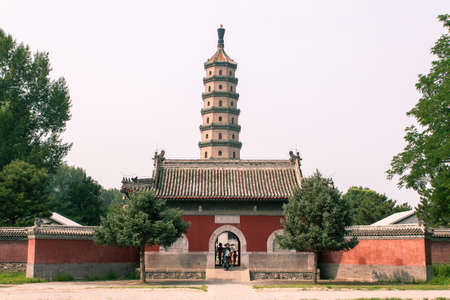 god bless: Shooting in Chengde The Imperial Mountain Summer Resort, God Bless temple, pagoda