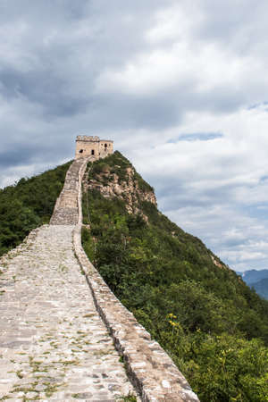 simatai: Miyun County Beijing Simatai Great Wall Stock Photo