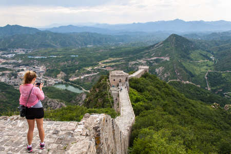 simatai:  greatwall Stock Photo