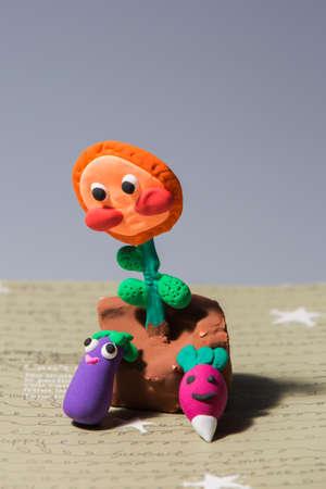 stuff toy: Handcraft decoration Stock Photo