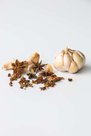 anise: Garlic, pepper, star anise