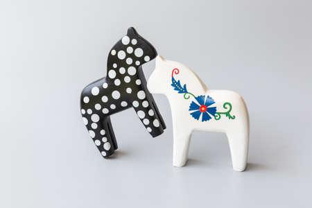 Wooden horse toys