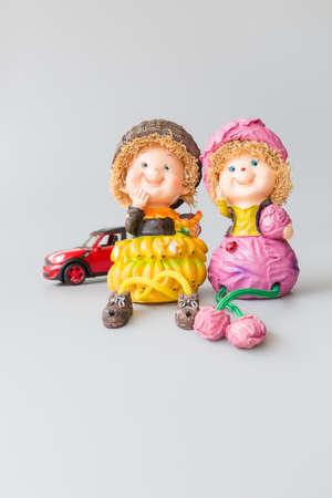 gleeful: decoration doll