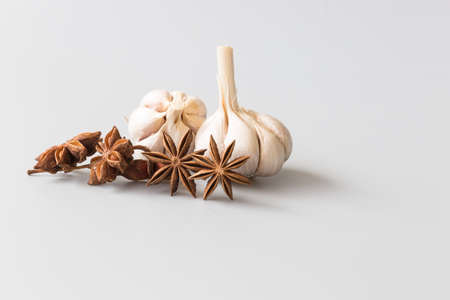 anise: Garlic and star anise