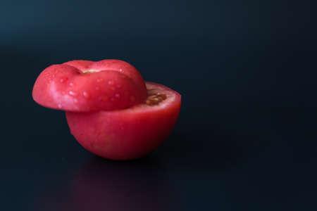 tomato slice: Still life photography tomato Stock Photo