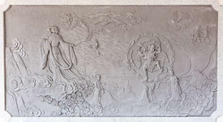 Embossed mythology