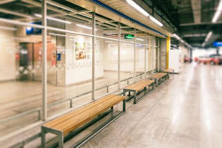 car park interior: Indoor scenes Editorial