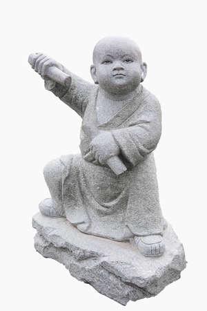 moine: Les jeunes statues de moine