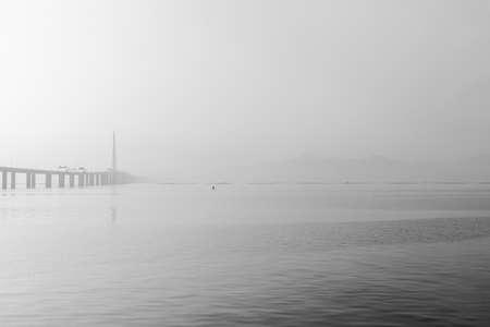 wavelet: Shenzhen Bay at dawn