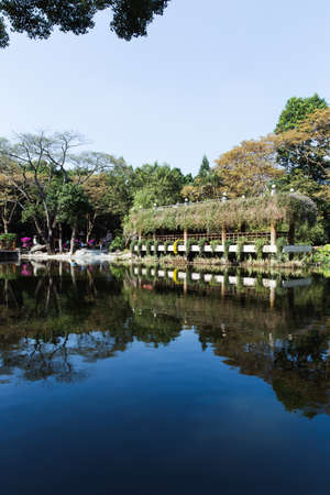 Donghu Park in Shenzhen City 版權商用圖片