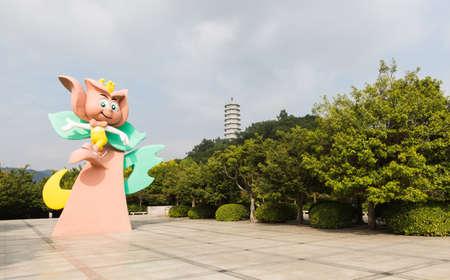 blessedness: Shenzhen Garden  Flower Expo Park Editorial