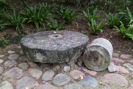 roller: stone roller