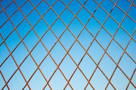 wire: wire netting Stock Photo