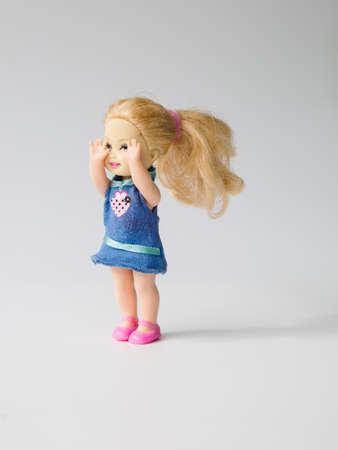 pullet: girl doll Stock Photo