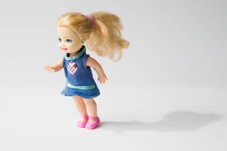 pullet: girl doll Editorial