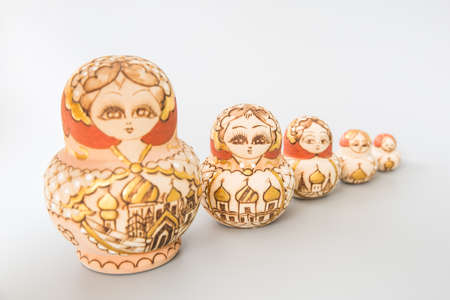 tall and short: Matryoshka doll