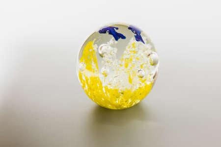glasswork: glass ball