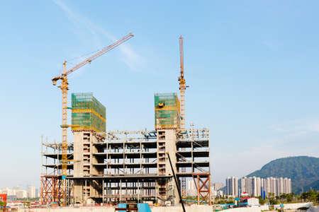 building under construction Editorial