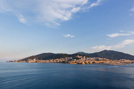 nature view of ajaccio, Corsica, france. Standard-Bild