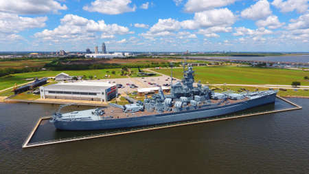 USS Alabama battleship Editorial