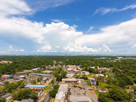 Downtown Mobile, Alabama skyline