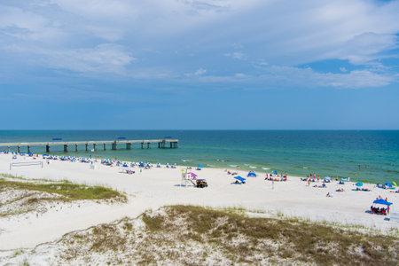 Orange Beach, Alabama in June of 2021
