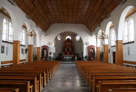 Church interior photo