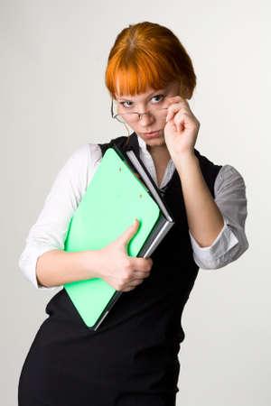 Attractive businesswoman Stock Photo - 4832390