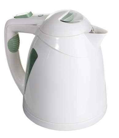 electric tea kettle: Electric tea kettle isolated on white background