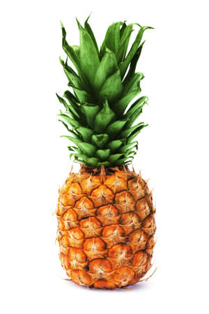 Pineapple isolated on white background photo