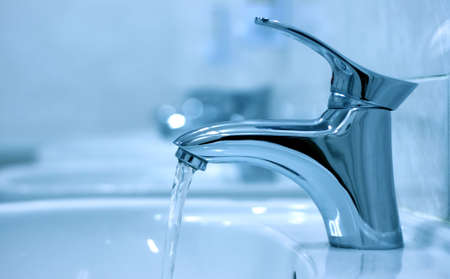 Open water faucet Stock Photo - 10814316