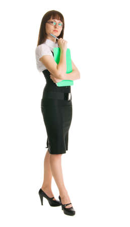 Attractive businesswoman photo