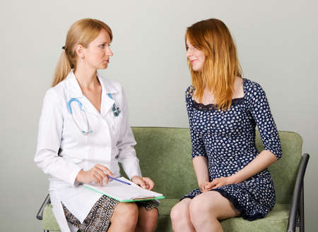 Consultation in a clinic Stock Photo - 5036875