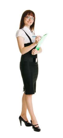 Attractive businesswoman Stock Photo - 5045602