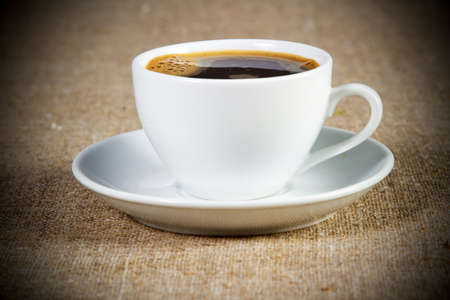 Cup of coffee close-up studio photo Stock Photo - 11919053