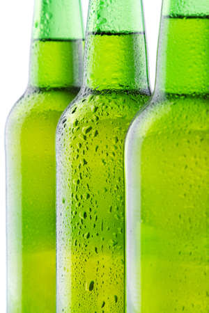 Beer bottle background Stock Photo - 12730916