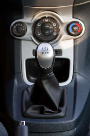 Conditioner and air flow control in a modern car photo