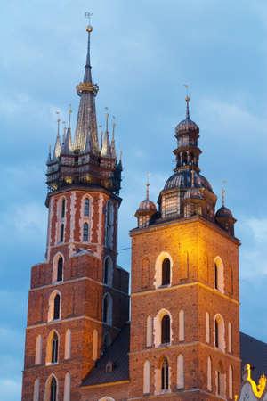 Krakow city in Poland, Central Europe photo