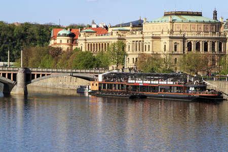 Prague, the capital of Czech Republic, Central Europe Stock Photo - 13916693