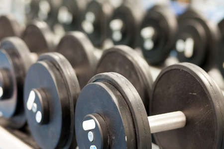 Inter of a modern gym in a fitness center Stock Photo - 17247219