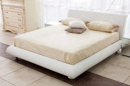現代のイタリア様式の寝室 写真素材