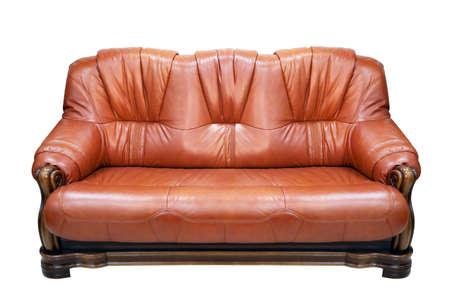 Sofa isolated on white background Stock Photo - 21446640