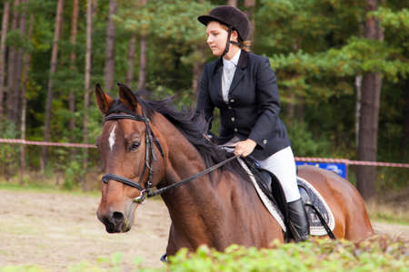 Wroclaw, Poland:  SEPT 29 - Horse trials in Wroclaw